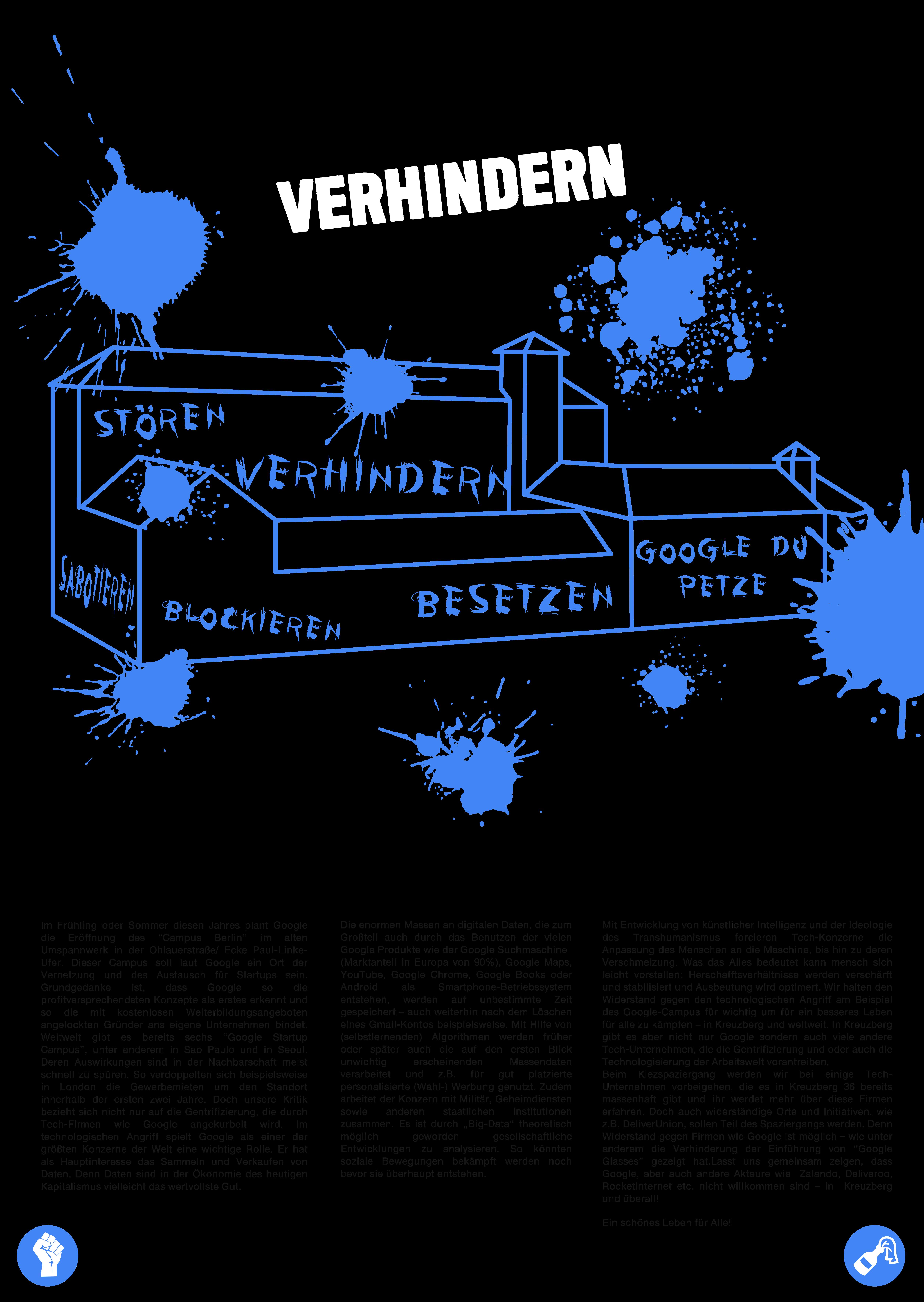 Poster Kiezspaziergang